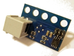 The following image cannot be displayed: Dexter Industries' Thermal IR Imaging Sensor; Side View