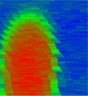 The following image cannot be displayed: Xander's Thermal Image of his Experiment